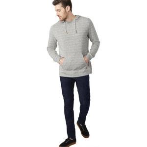 Tentree Hemp Thompson Hoodie Sweatshirt Gray S